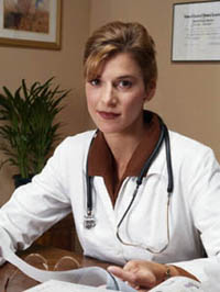 Picture of female physician